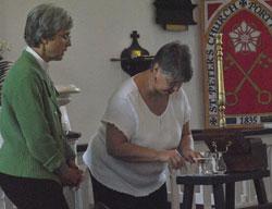 Lev Training for Communion Service