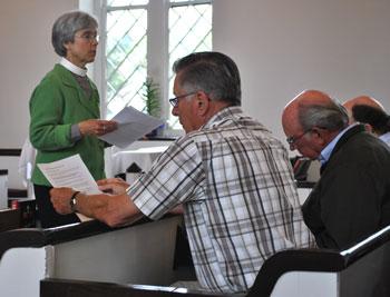 Lev Training Communion Service